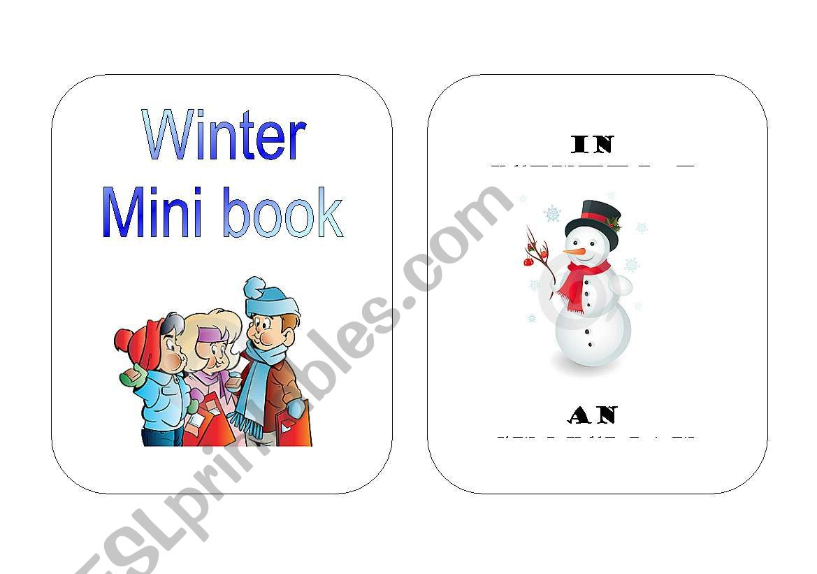 Winter Mini Book