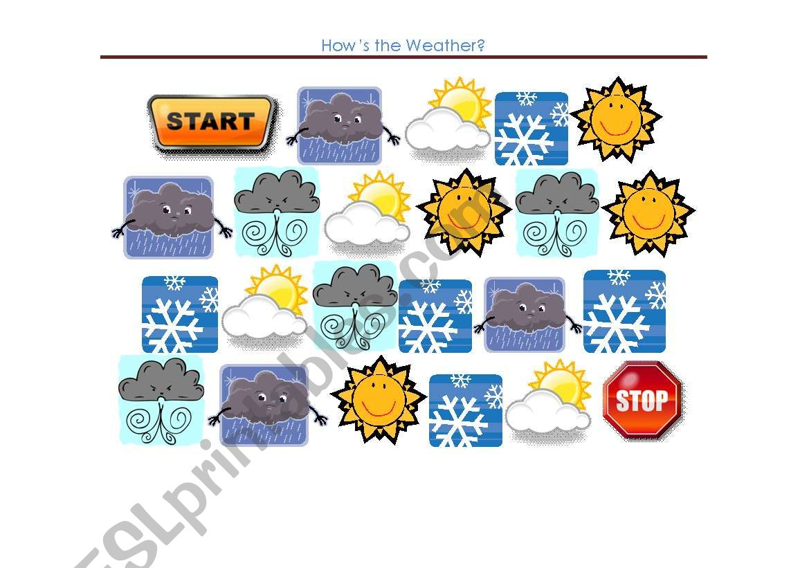 How S The Weather Board Game