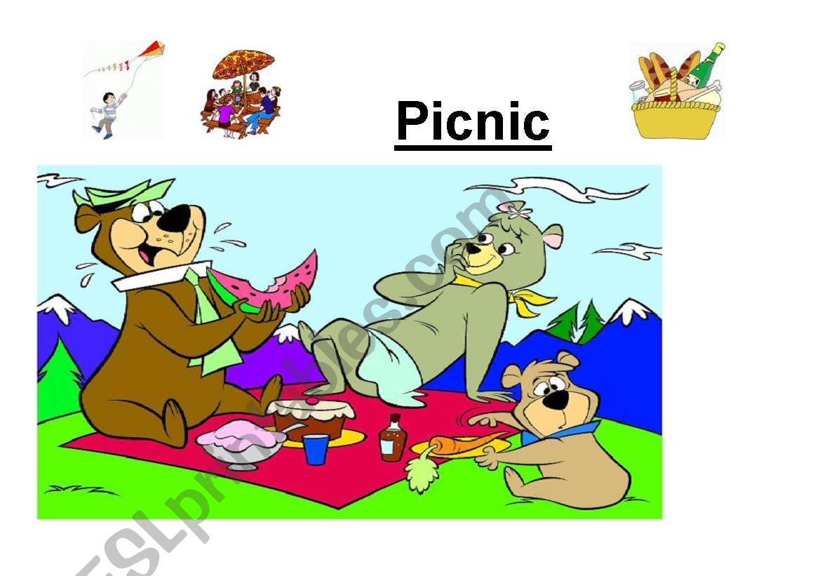 English Worksheets Picnic
