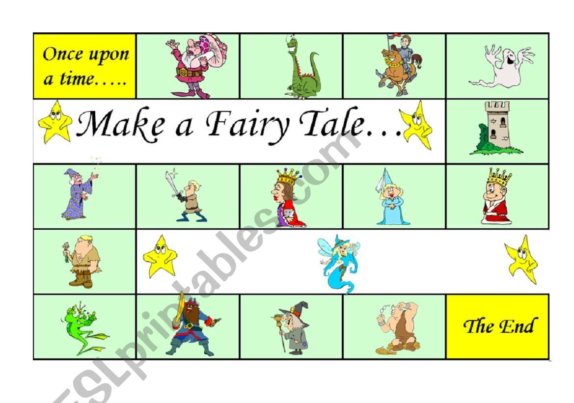 Make A Fairy Tale Board Game A Fun Way To Practise Story