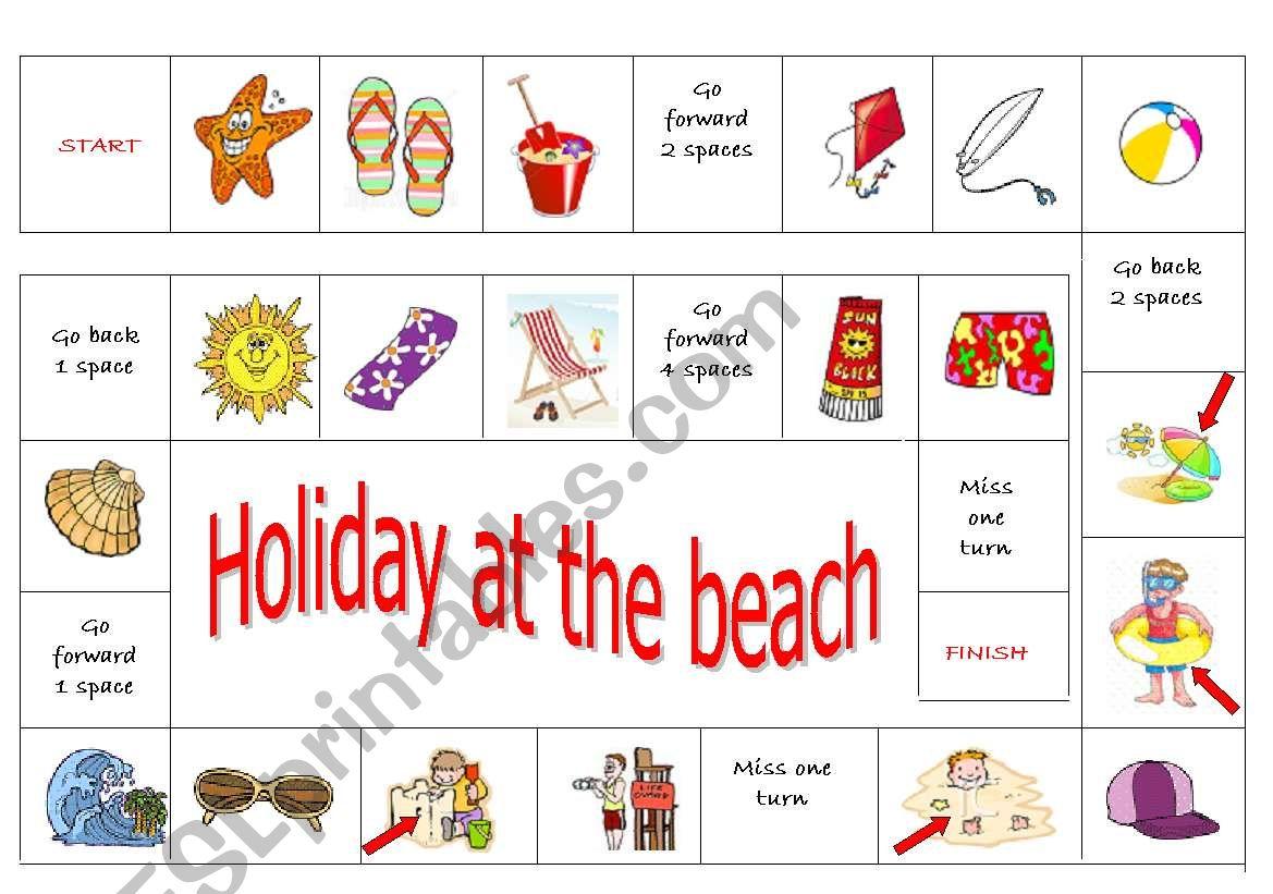 Beach Boardgame