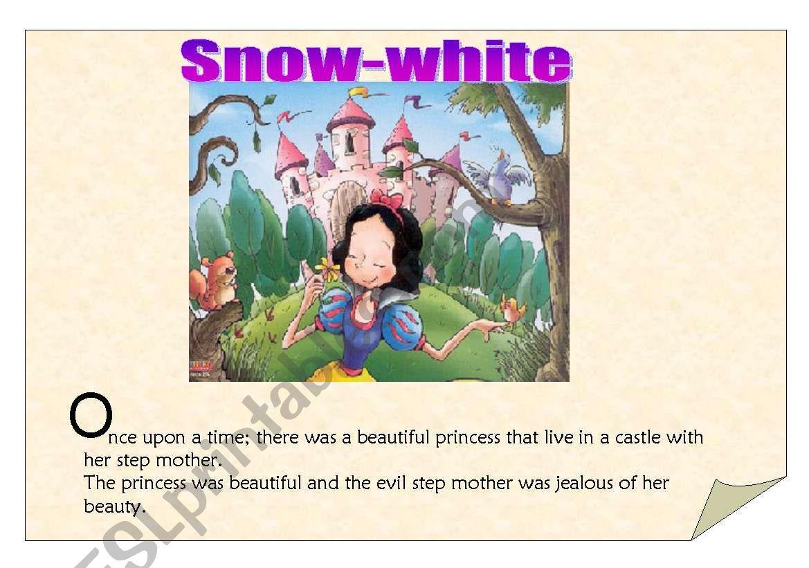 Snowwhite The Reading Part 1