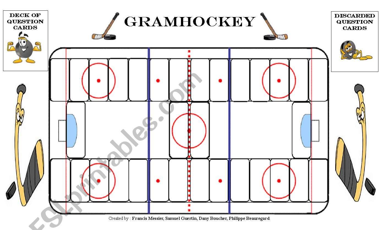 Grammar Hockey Board Game 1 2