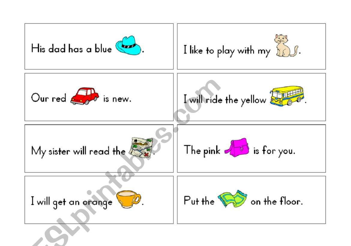 Rebus Short Vowel Learning Cards Pages 1 2 Of 4