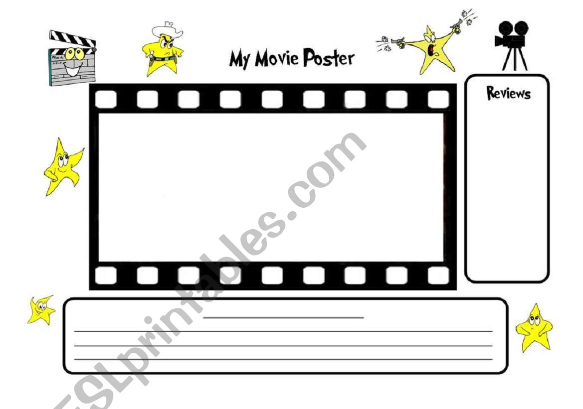 Make A Movie Poster High Quality A3 Printable