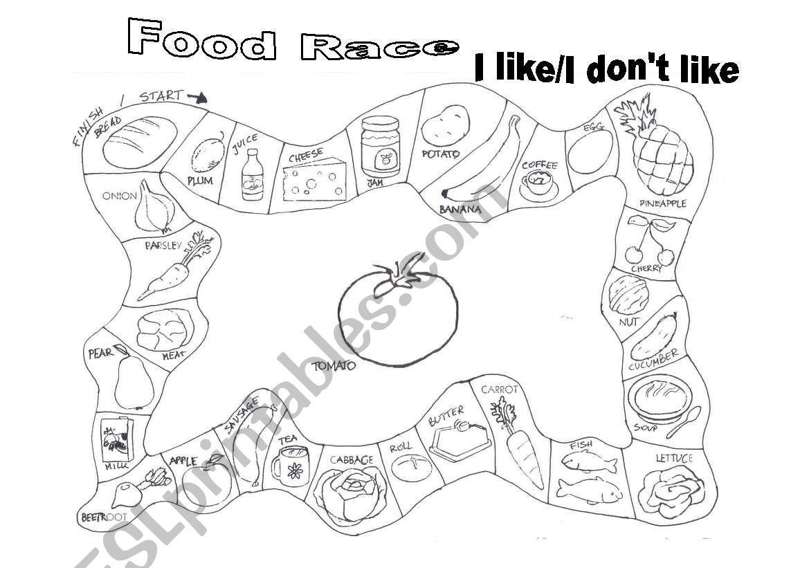 Food Race Game