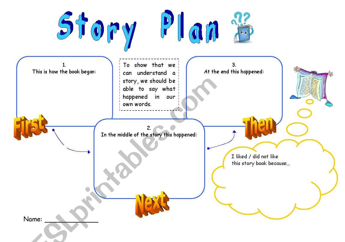 Story Plan Book Report