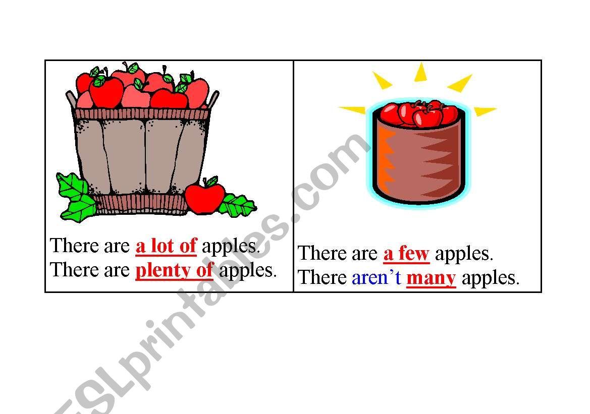 English Worksheets Flashcards