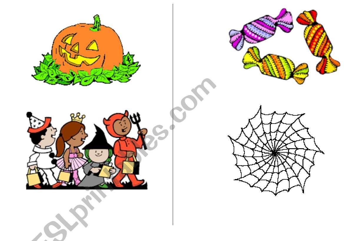 Halloween Flashcards 1