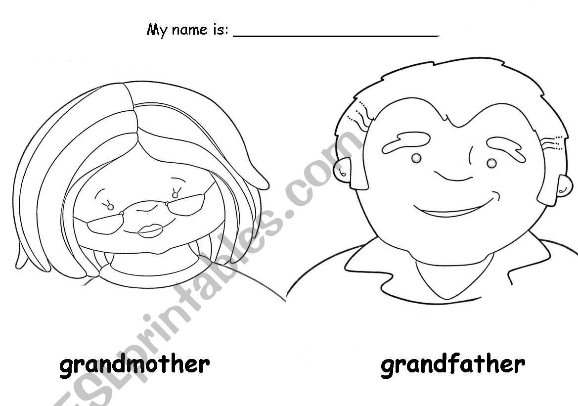 Grandmother And Granfather