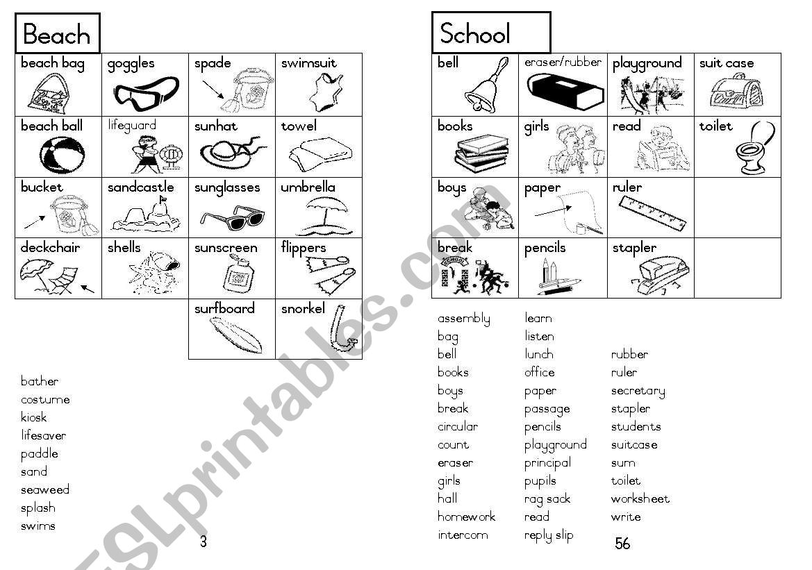 A5 Picture Dictionary 4