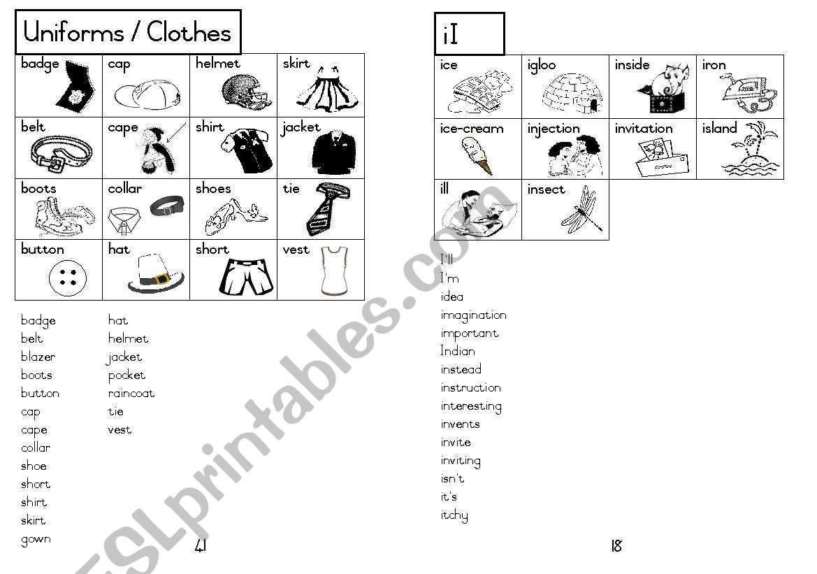 A5 Picture Dictionary 19