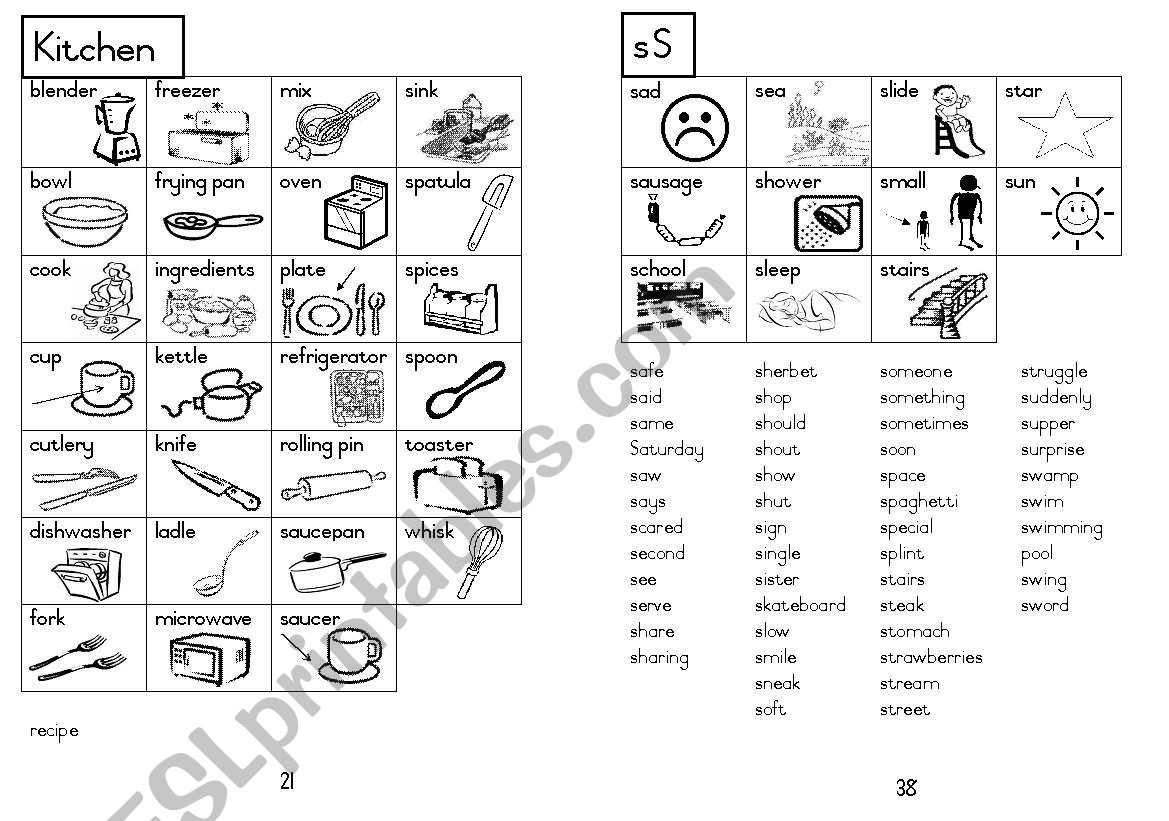A5 Picture Dictionary 22