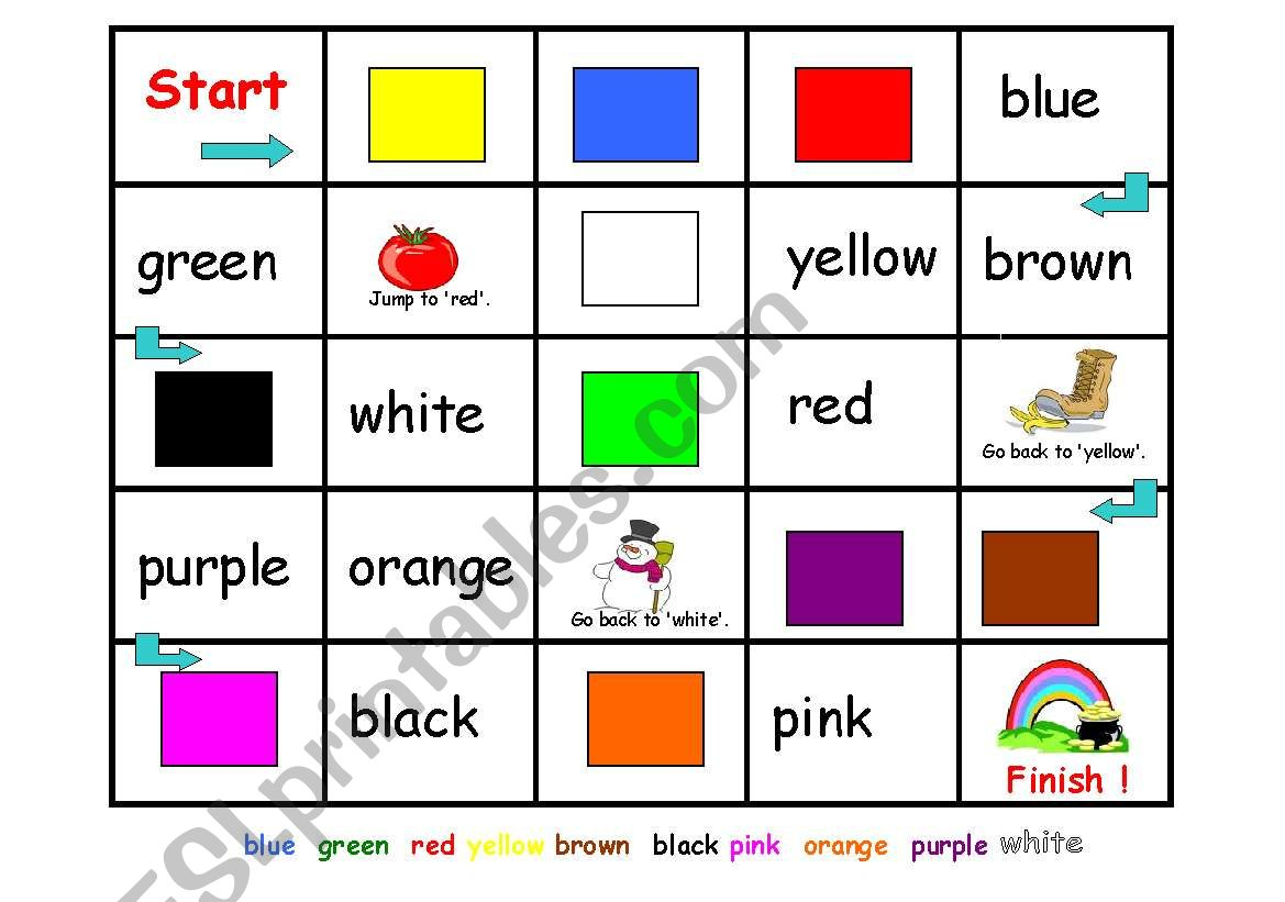 Colors Boardgame
