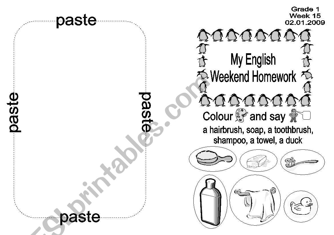 English Worksheets Daily Routine