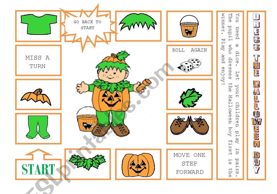 Dress The Halloween Boy