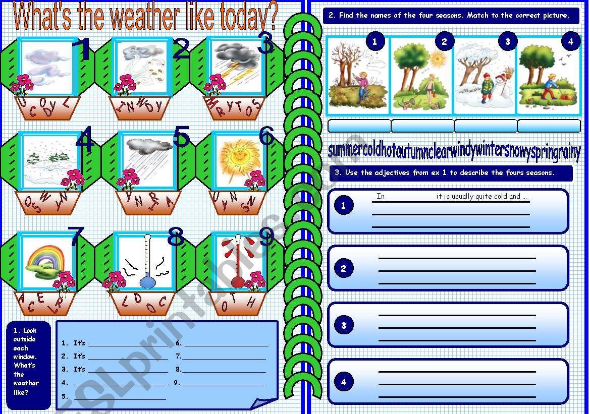 Weather And Seasons 1