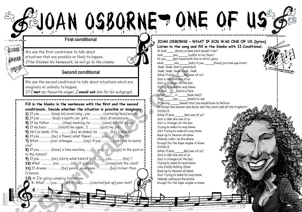 2nd Conditional Joan Osborne