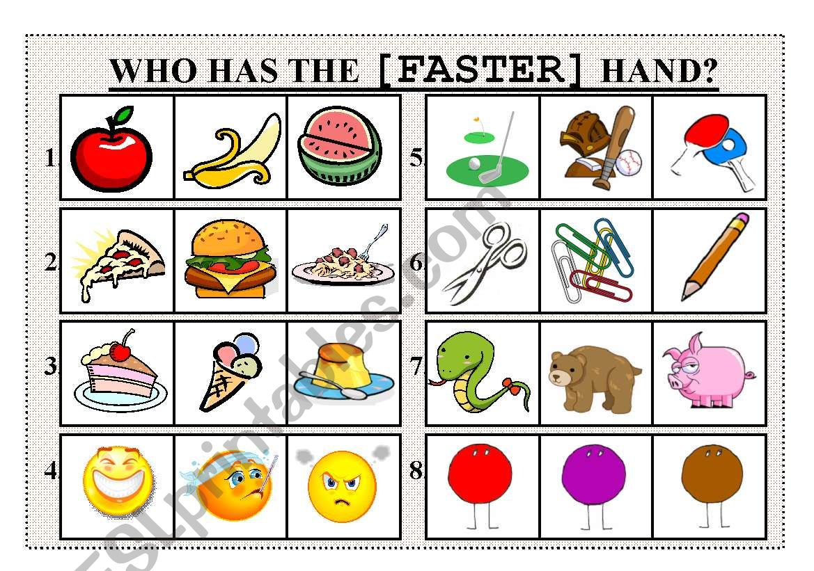 Who Has The Faster Hand