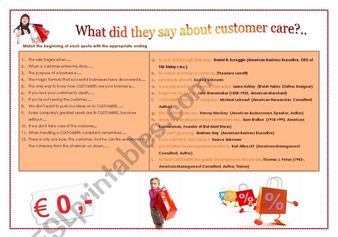 Customer Care With Answers