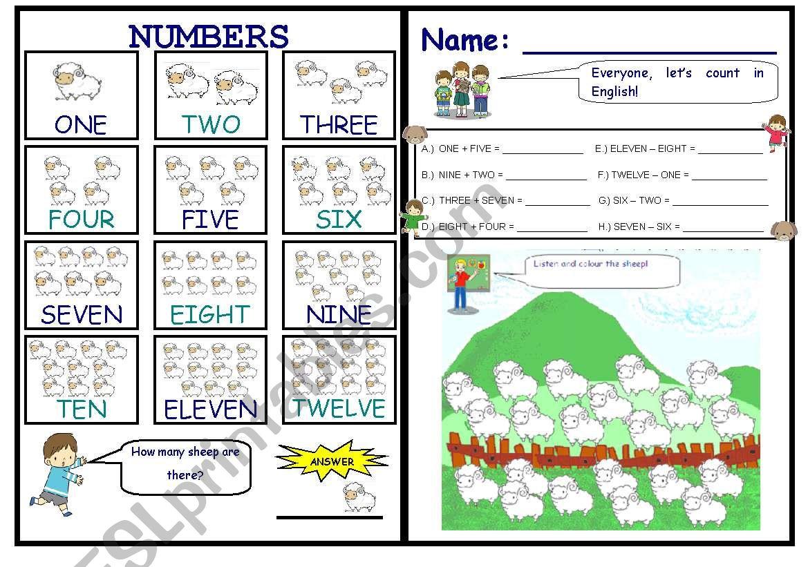 Counting Sheep Edited