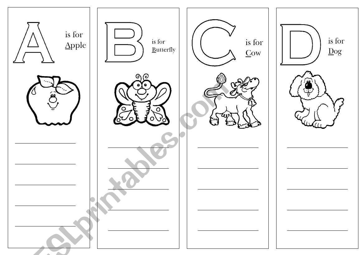 Alphabet Activities Part 1 Of 6