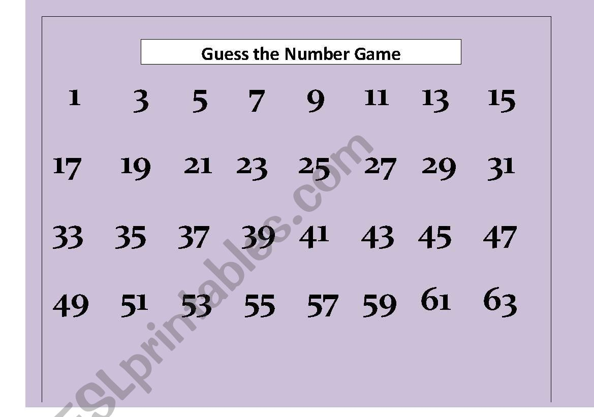 Guess The Number They Re Thinking Of