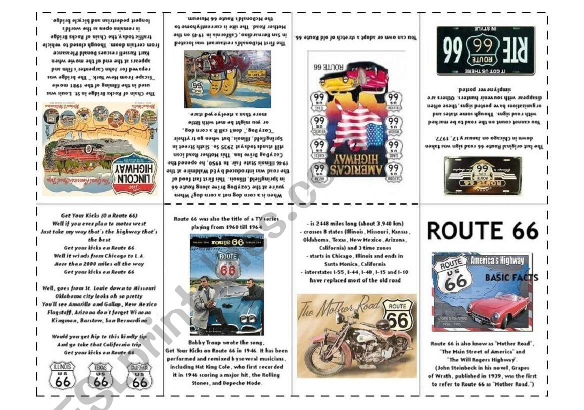 Basic Facts About Route 66
