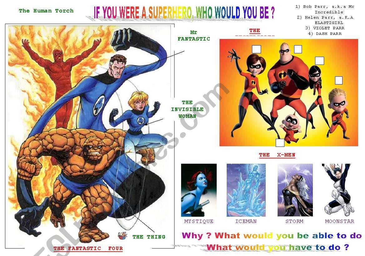 If You Were A Superhero