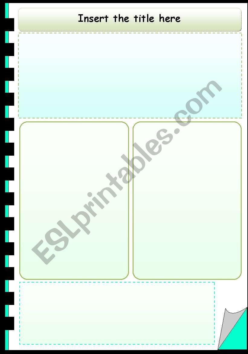 English Worksheets Worksheet Template Notebook 2