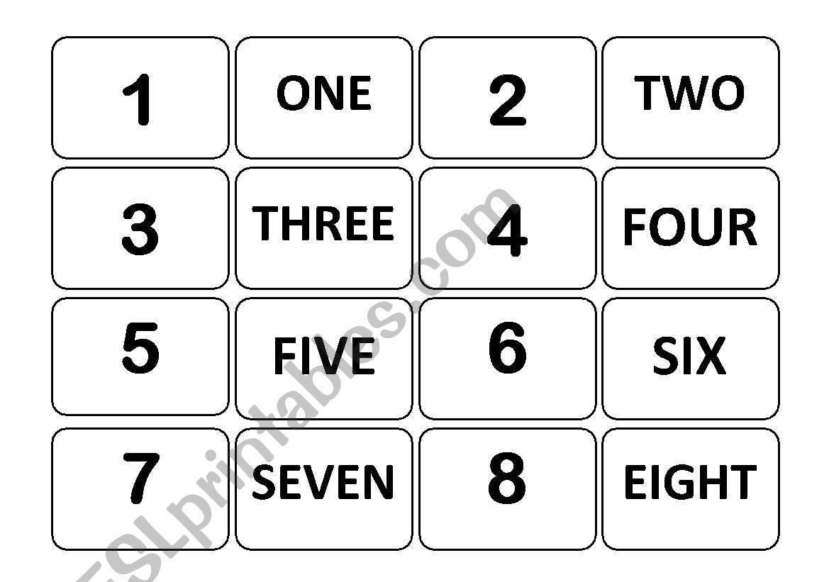 Number Memory Game