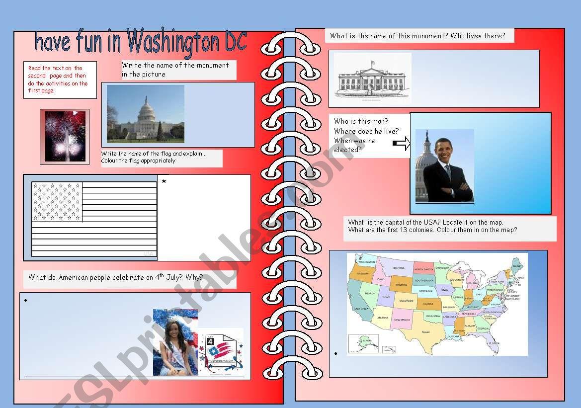 Have Fun In Washington Dc
