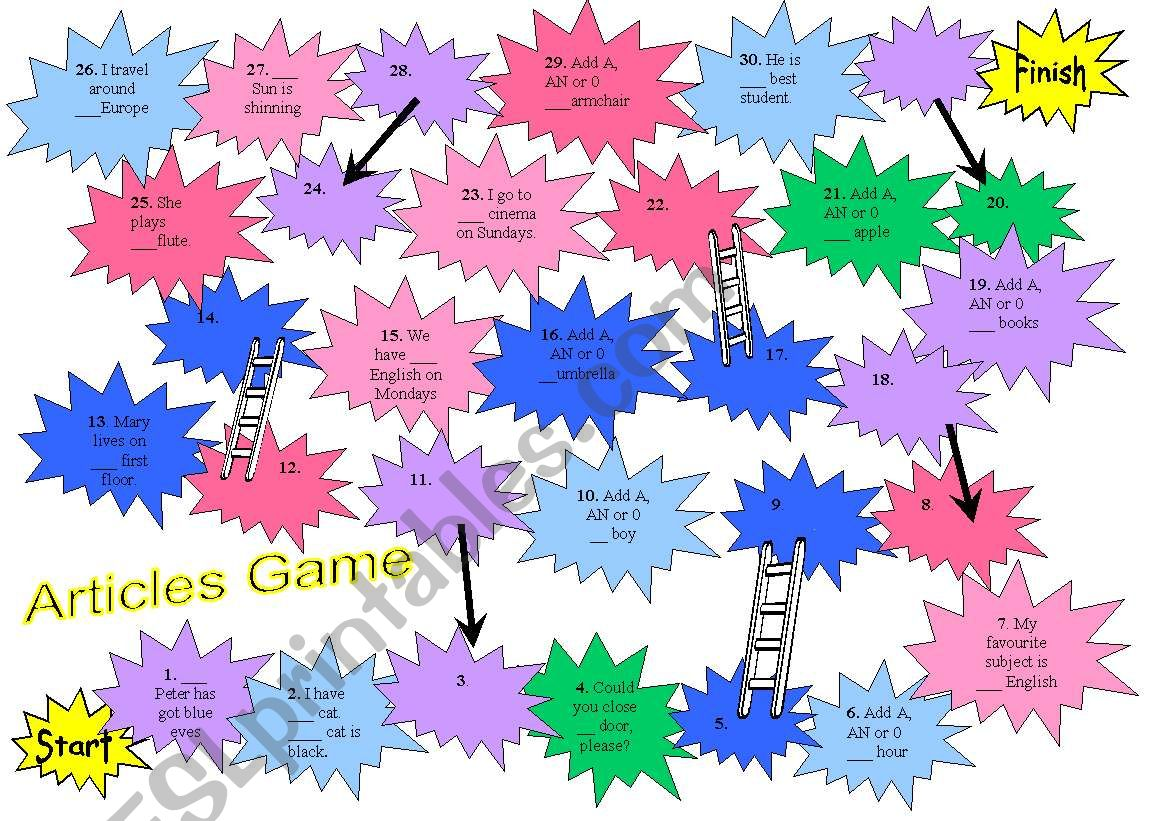 Articles Game