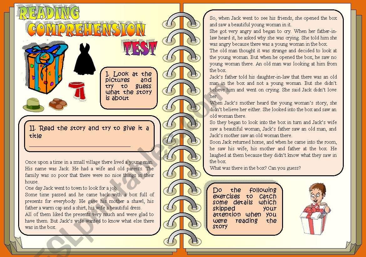 Reading Comprehension Test