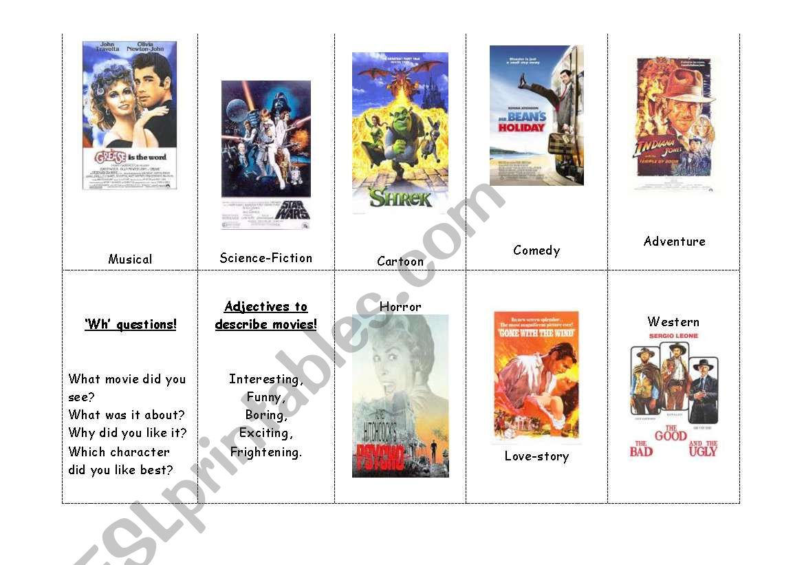 Movies And Adjectives