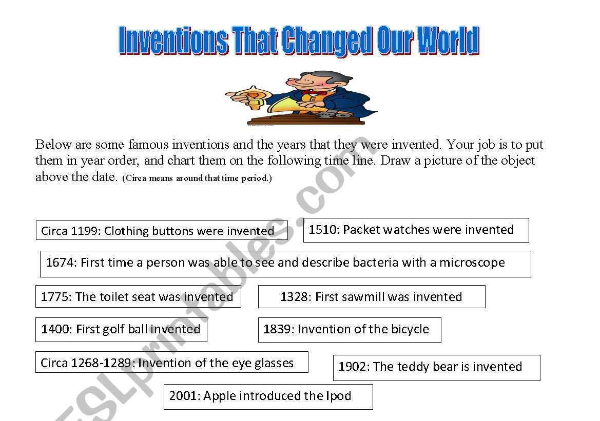 Worksheet Technology Then And Now