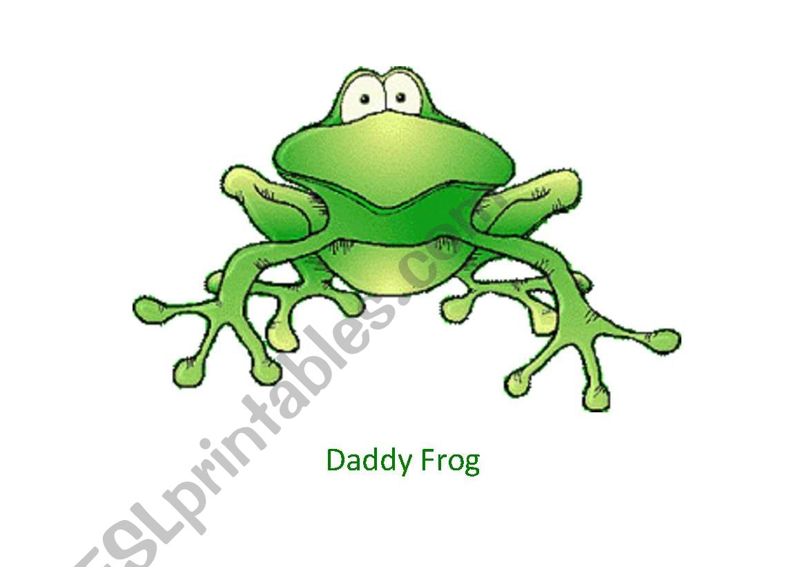 The Frog Family Flashcards Set 1