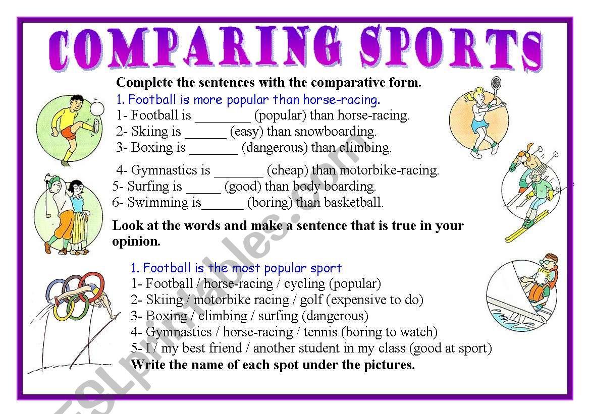 Comparing Sports