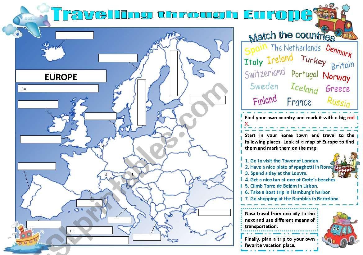 Travelling Through Europe