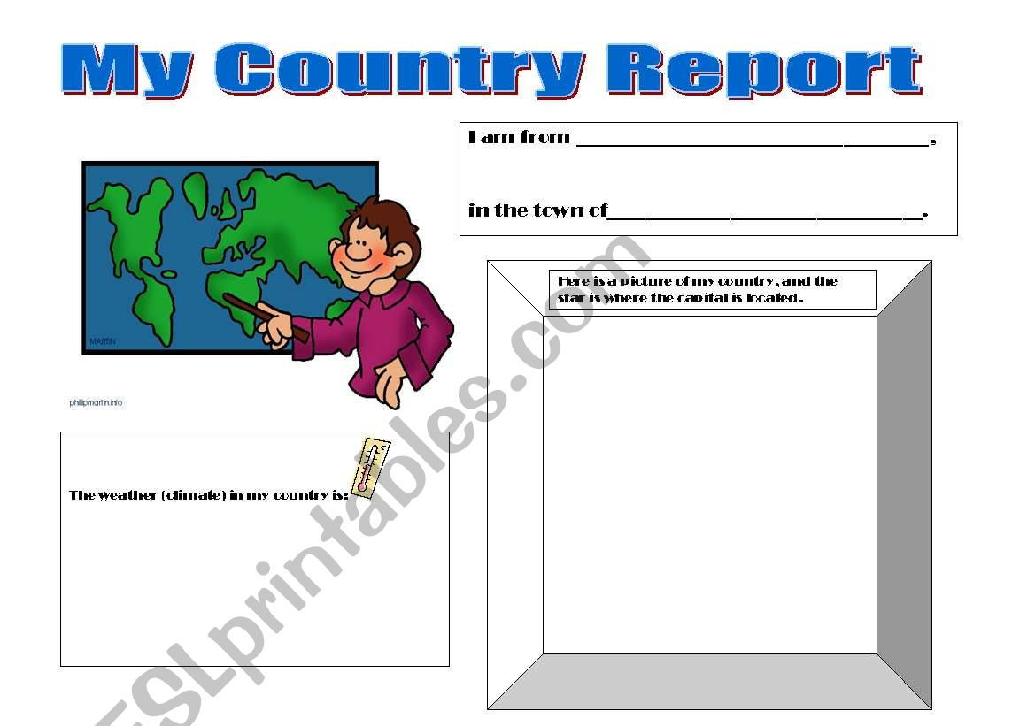 My Country Report