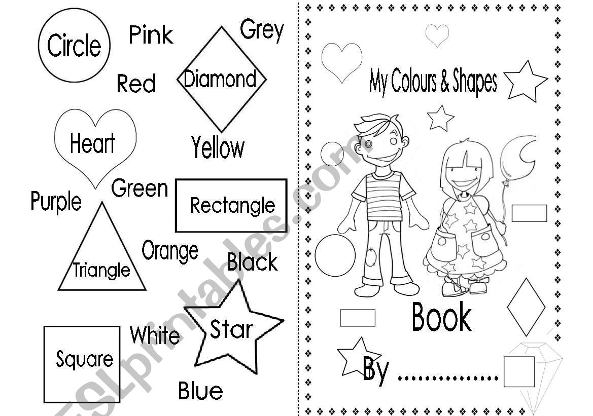 My Colours And Shapes Book