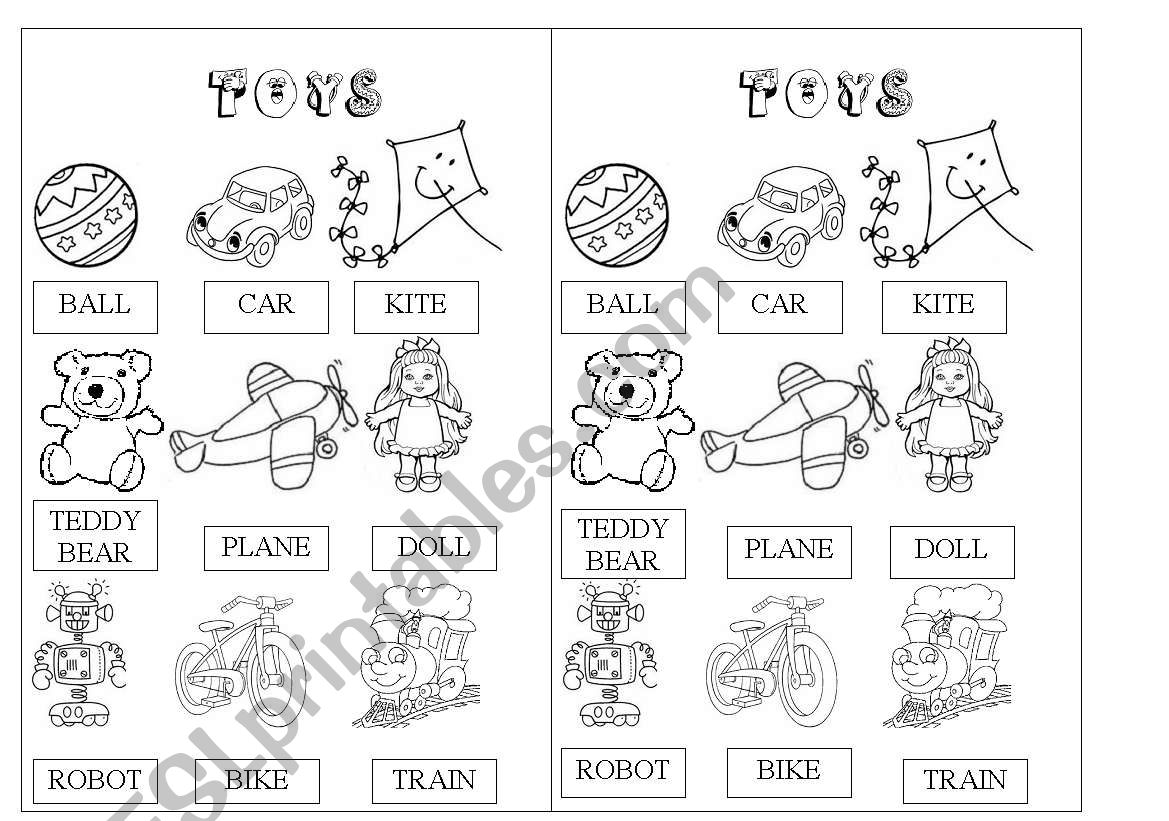 Toys Pictionary
