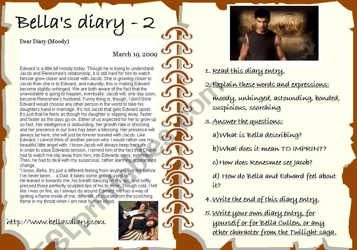 Bella S Diary 2