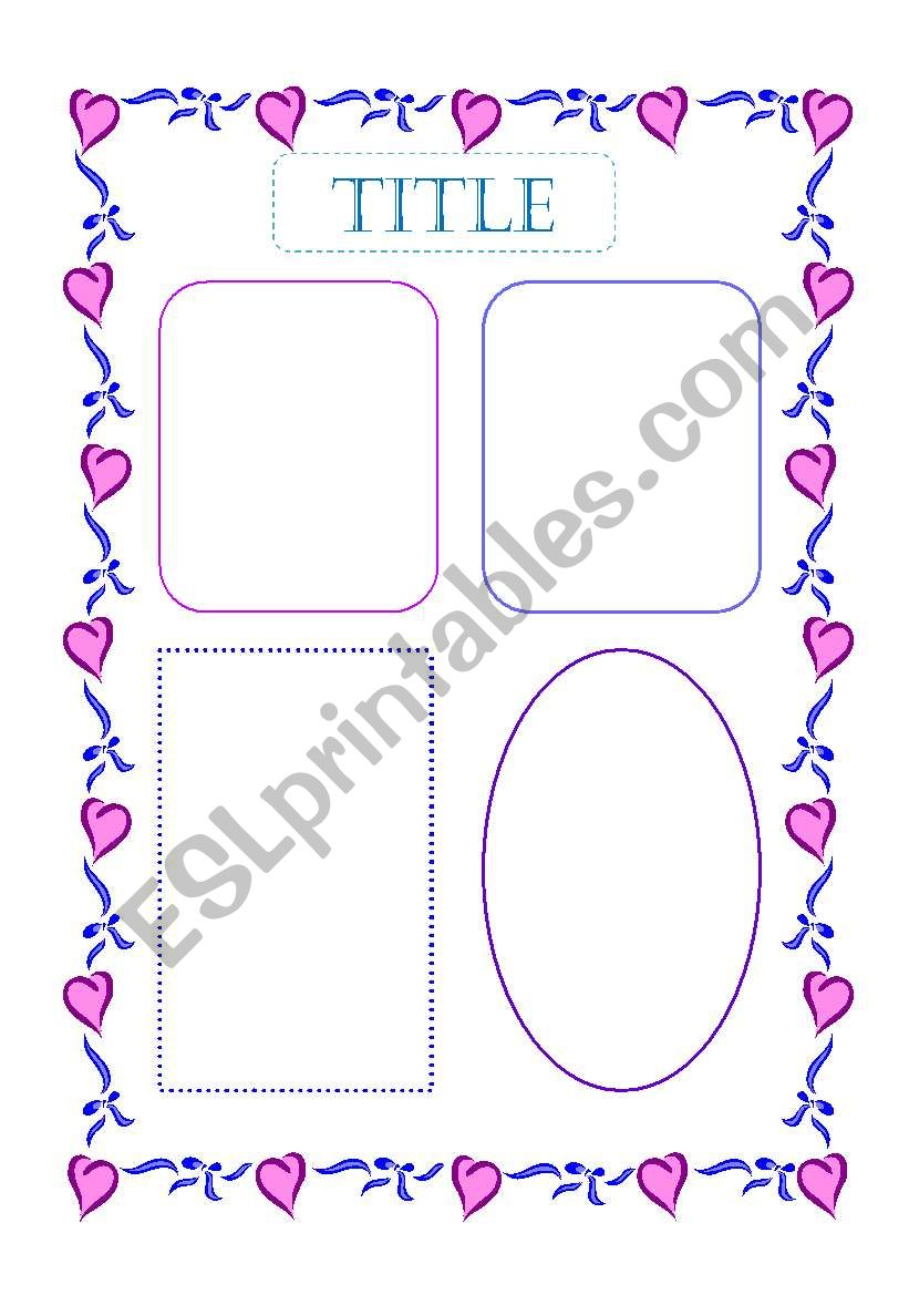 English Worksheets Template