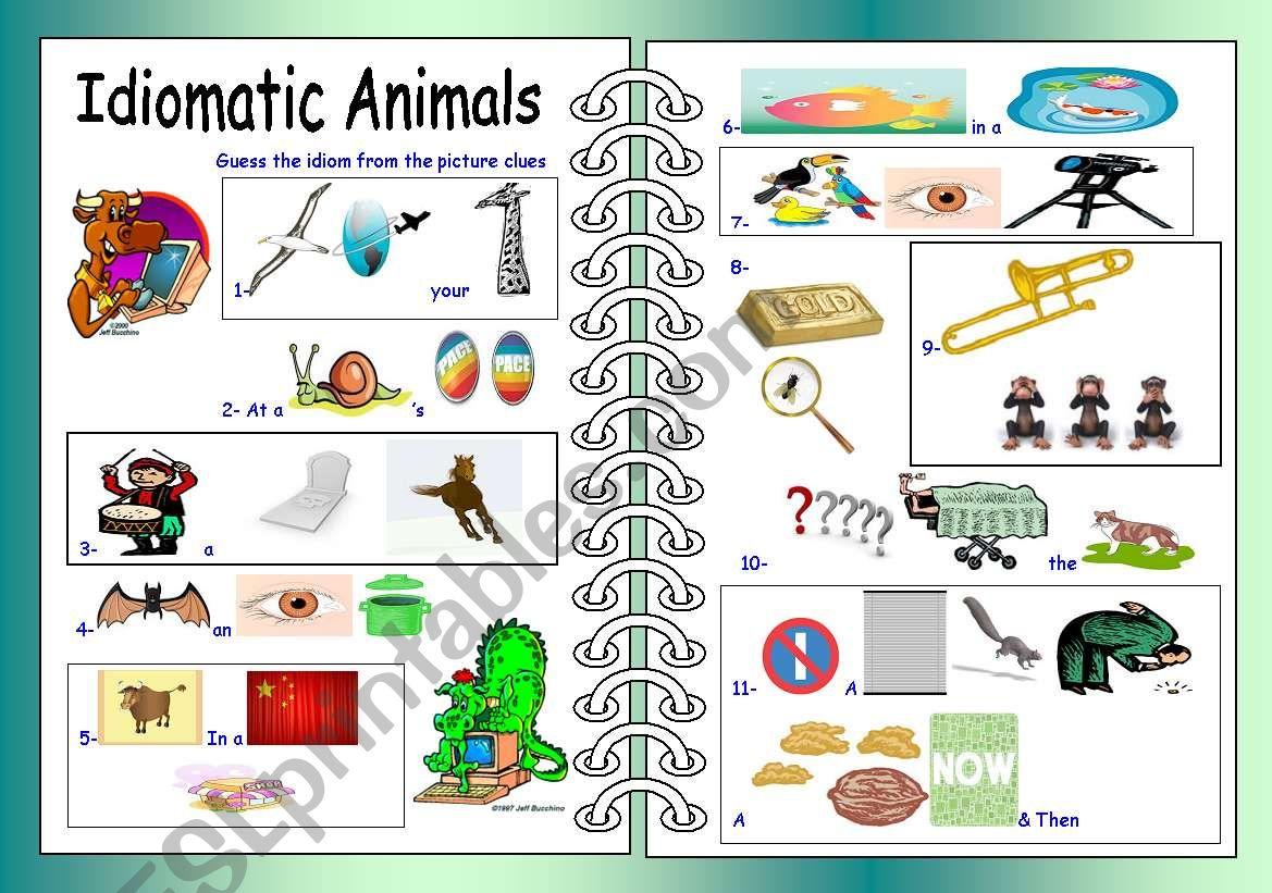 Idiomatic Animals