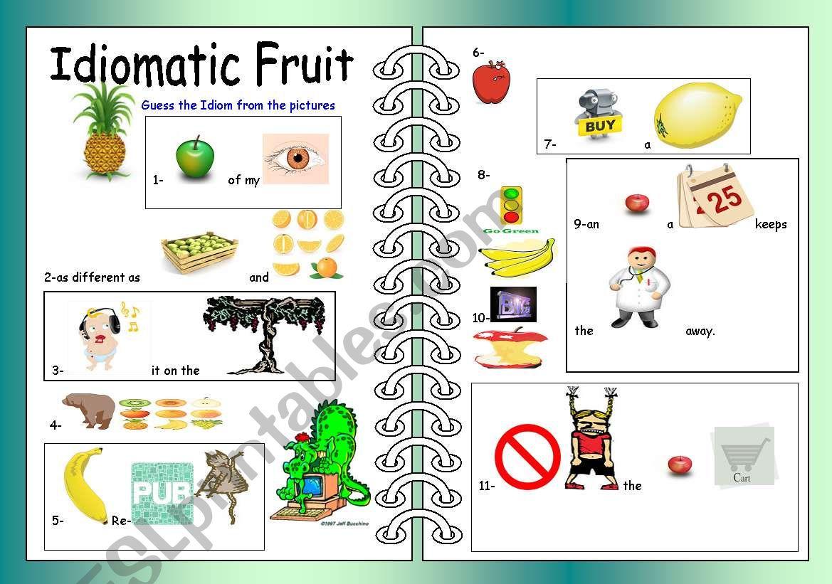 Idiomatic Fruit