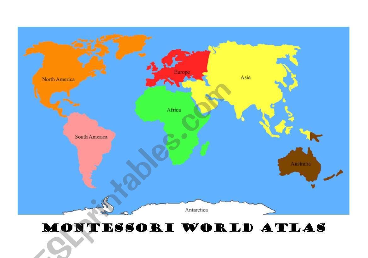 World Atlas Montessori