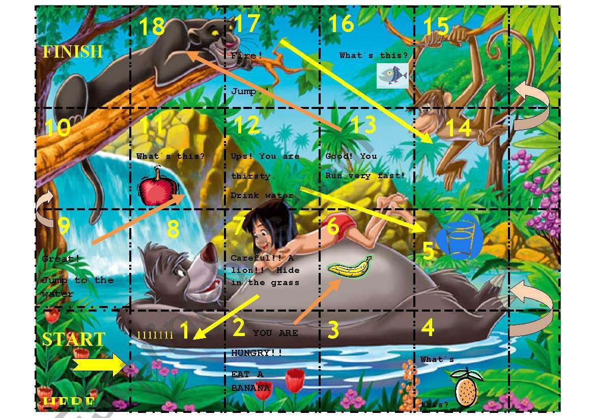 Jungle Book Game