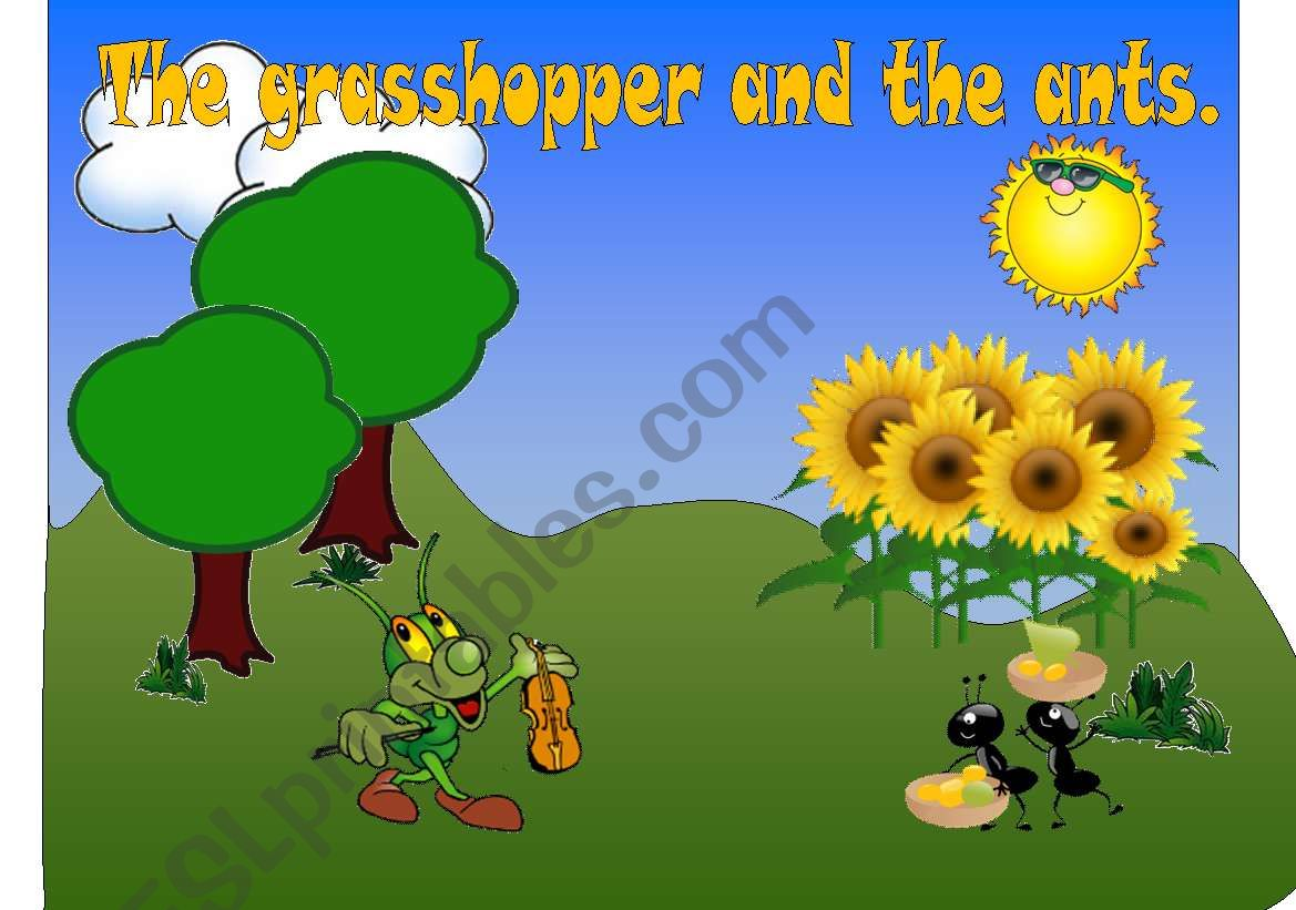 The Grasshopper And The Ants 1 2