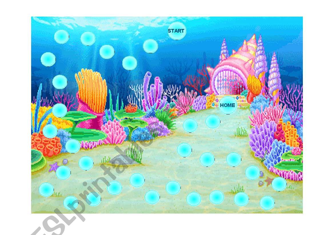 Under The Sea Gameboard